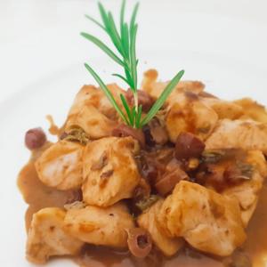 Bocconcini Pollo Olive e Capperi