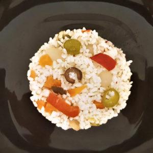 Insalata di riso colorata De Angelis
